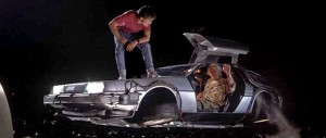 Back to the Future Delorean DMC 12