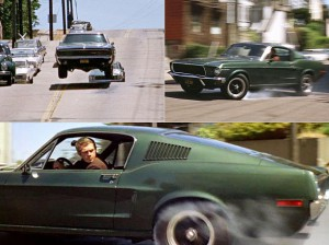 Bullitt 1968 Ford Mustan GT390 Fastback