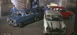 The Italian Job, 1968 Austin Mini Cooper S