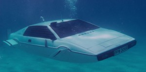 The Spy who Loved me 1975 Lotus Esprit