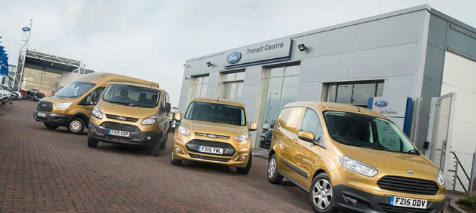 Save £500 on a new Ford Commercial Van or Truck