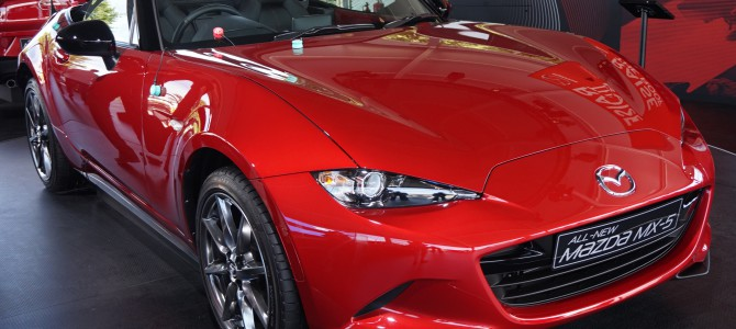 Roadster of the Year 2015: Awarded to MAZDA!