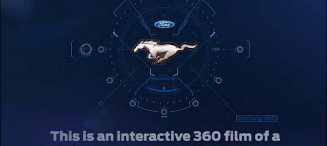 Experience a hot lap of Silverstone Circuit in a Ford Mustang