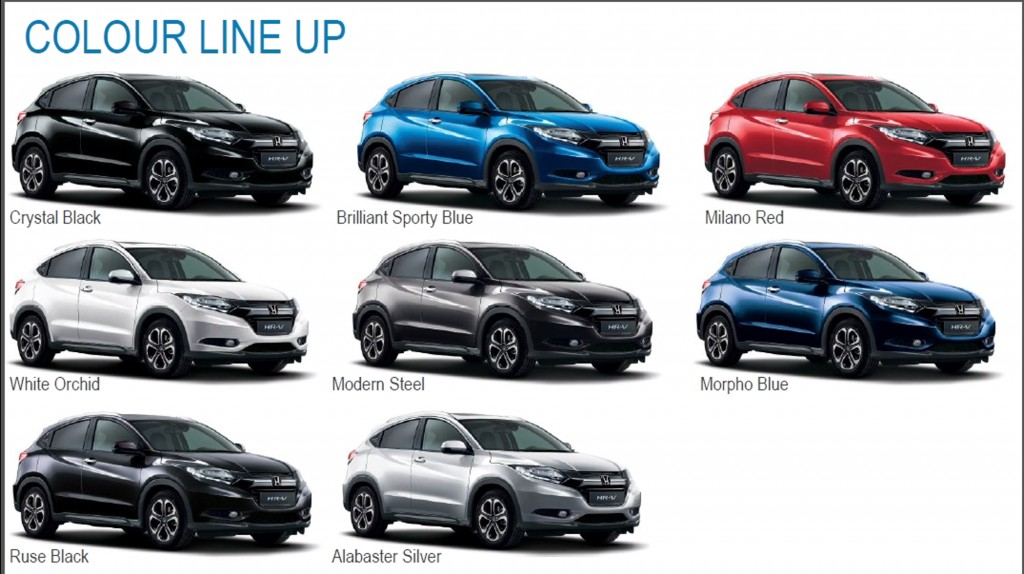 Image Result For Honda Hrv Colours