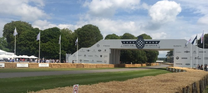 Motorparks at the Goodwood Festival of Speed