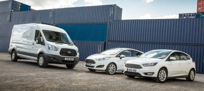 Ford Scores a 1-2-3 in UK Sales