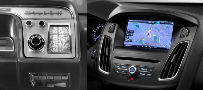 Ford's Vision of the Future: Satellite Navigation