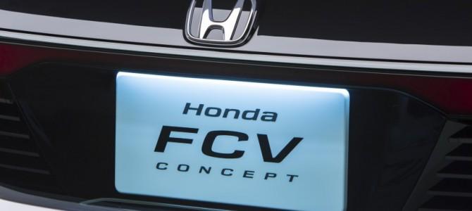 Honda FCV Concept for 2016