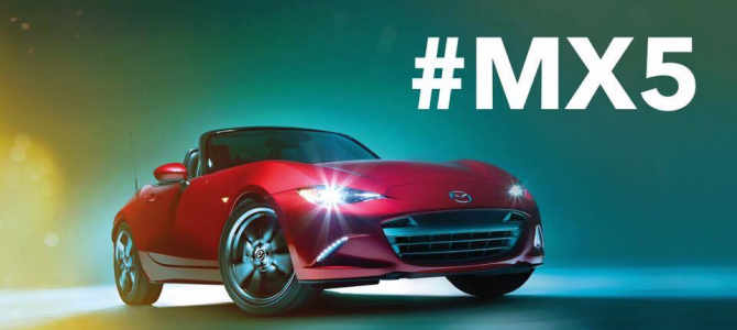 #MX5 – Drive Yours This Bank Holiday