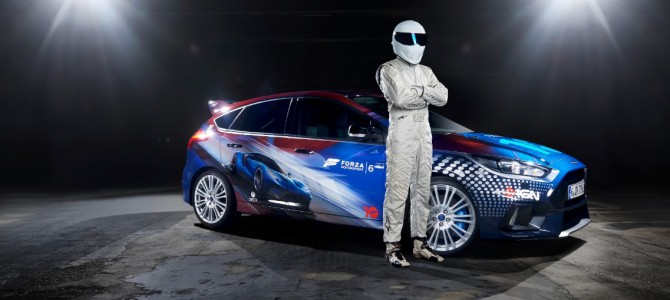 Top Gear's The Stig Reveals Ford GT inspired custom Focus RS