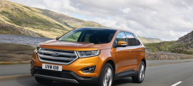 European Ford Edge to Debut in Frankfurt