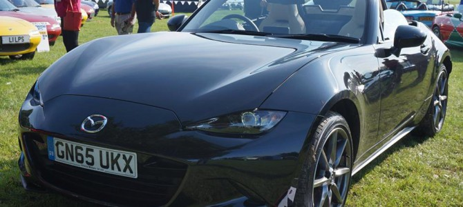 Edenbridge Motor Show with MX-5 Driver Social club