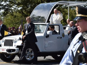 Pope Francis - Jeep Wrangler