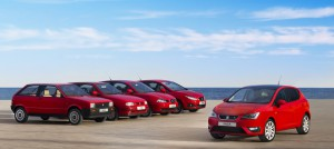 The First 5 SEAT Ibiza Models