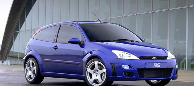 The History of the Focus RS