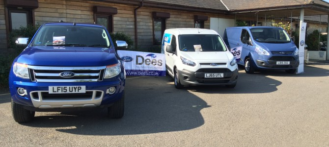 Dees of Croydon Ford Transit Centre Support Jewson's Charity Golf Day