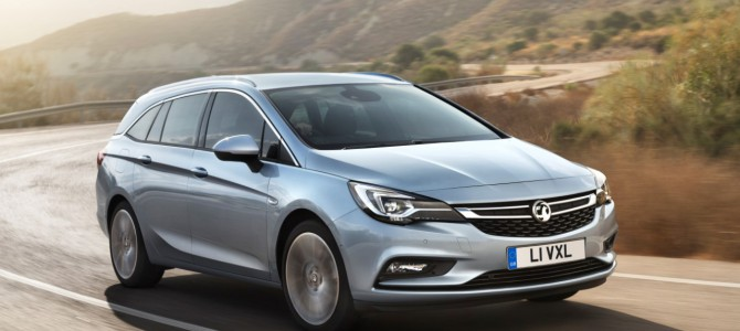 Vauxhall Announce New Astra Sports Tourer