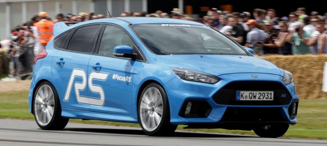 High Demand for the All-New Focus RS