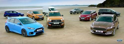 Ford All Wheel Drive Range
