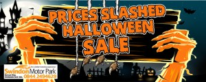 HALLOWEEN BANNER 127385 Swindon Price Slashed Banner 778x310px