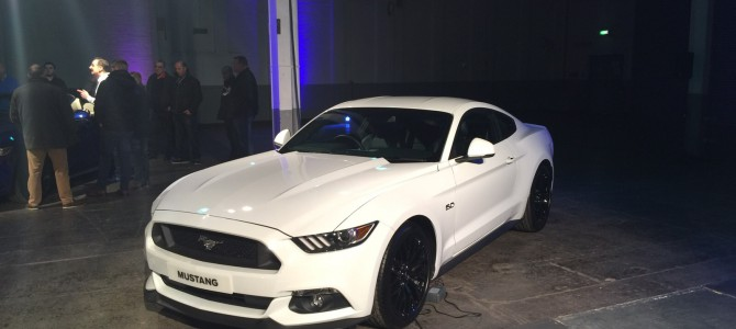 Right Hand Drive UK Ford Mustang Up Close