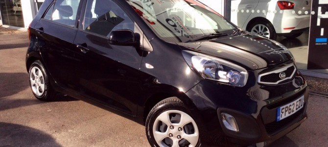 62 Plate Kia Picanto 1.0 5Dr Hatchback (2012)