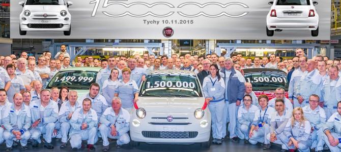 FIAT 500 REACHES 1,500,000 MILESTONE