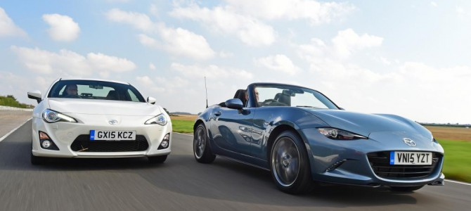 What's better: Mazda MX-5 VS Toyota GT 86