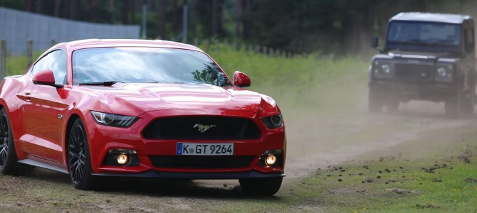 Former Stig Ben Collins praises Ford Mustang