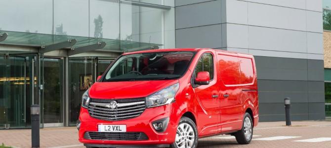 Vauxhall Vivaro Named Medium Van of the Year