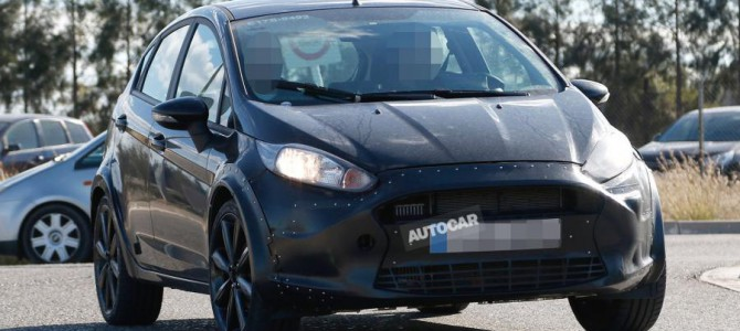 More Spy Photos of the 2017 Ford Fiesta