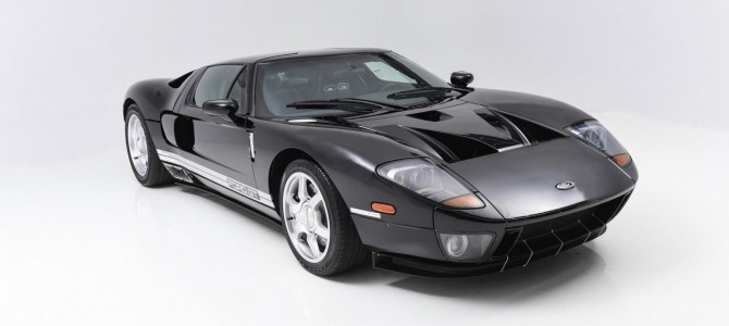 The Very First 'Moving' 2nd Generation Ford GT to be Sold