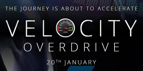 Velocity Overdrive – Cambria Conference 2016