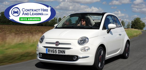 NEW FIAT 500 IS NAMED CITY CAR OF THE YEAR IN THE 2015 CONTRACTHIREANDLEASING.COM AWARDS