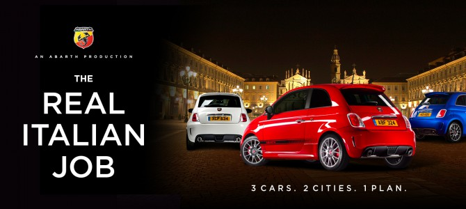 ABARTH ANNOUNCES LIMITED EDITION TRICOLORE PACK FOR THE 595 WITH INTERNET TEASER FILMS