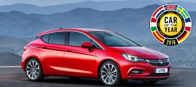 Vauxhall Astra Wins European Car of the Year for 2016