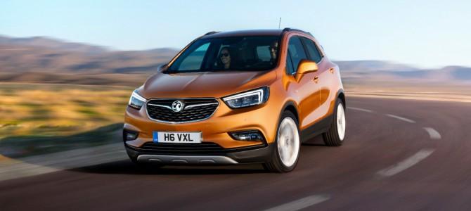 Mokka X to Lead The Way for Vauxhall at Geneva Motor Show