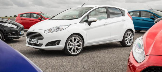 Fiesta still best selling new car after 11 year high for new car registrations in January 2016