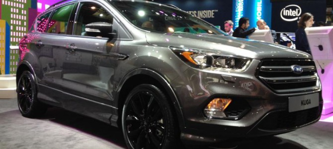 Facelifted Kuga Revealed
