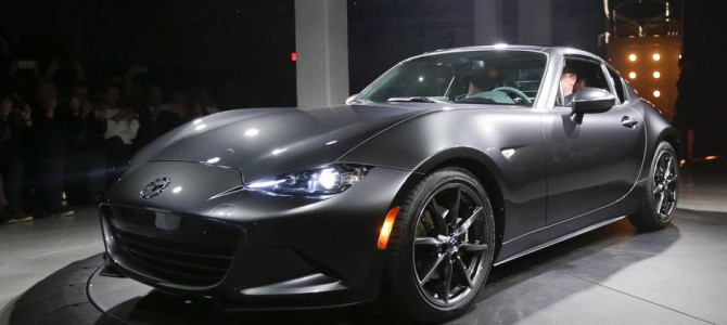 New Mazda MX-5 RF revealed at New York Motor Show