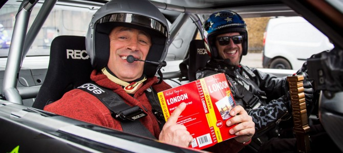Top Gear's Matt LeBlanc and Ken Block take a spin in the Ford Mustang Hoonicorn