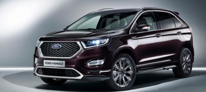 Ford Kuga, S-Max and Edge Vignale all revealed at Geneva Motor Show