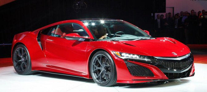 Honda NSX Price Has Been Revealed