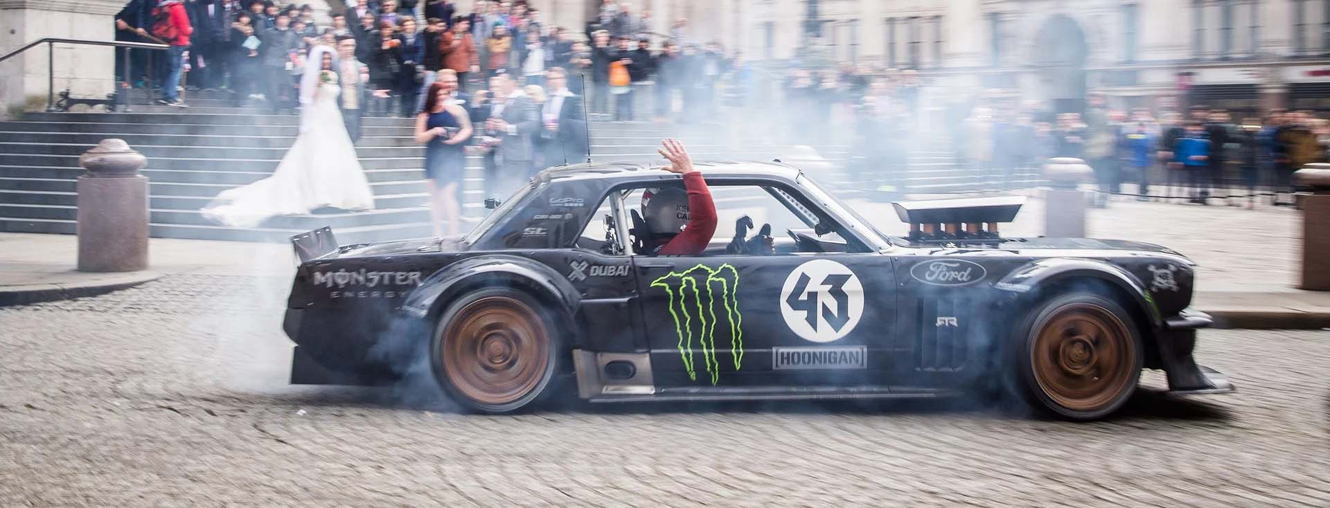 Top gears matt leblanc and ken block take a spin in the ford the streets of london were filled with tyre smoke and the roar of a v8 engine last week new top gear host matt leblanc was given a unique tour of the publicscrutiny Gallery