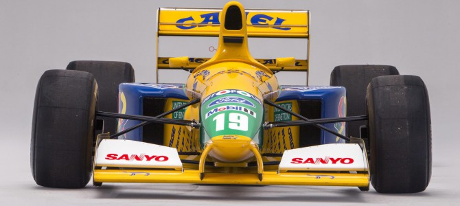 Michael Schumacher's Ford powered 1991 Benetton F1 car for auction