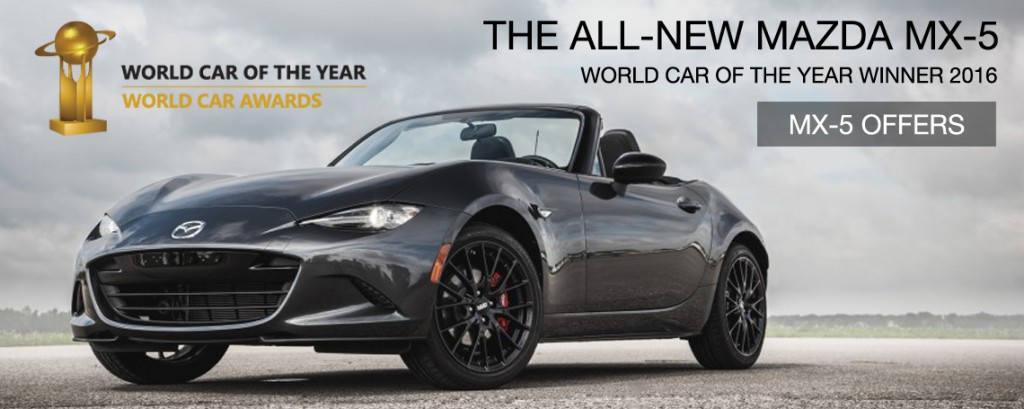 World Car Mazda >> All New Mazda Mx 5 Wins Both 2016 World Car Of The Year And World