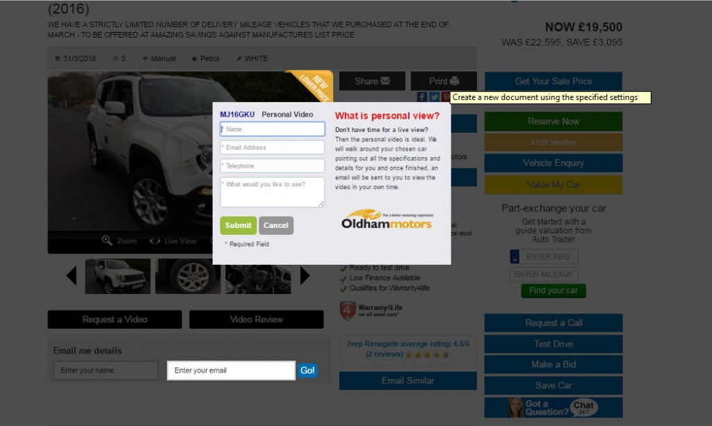 Oldham Motors