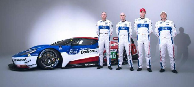 British Hopefuls Andy Priaulx and Marino Franchitti to debut In Ford GT this weekend