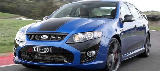 The Ford FPV GT F