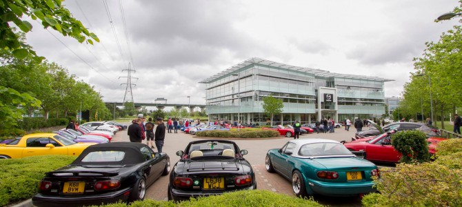 MX5 Punks at Mazda HQ